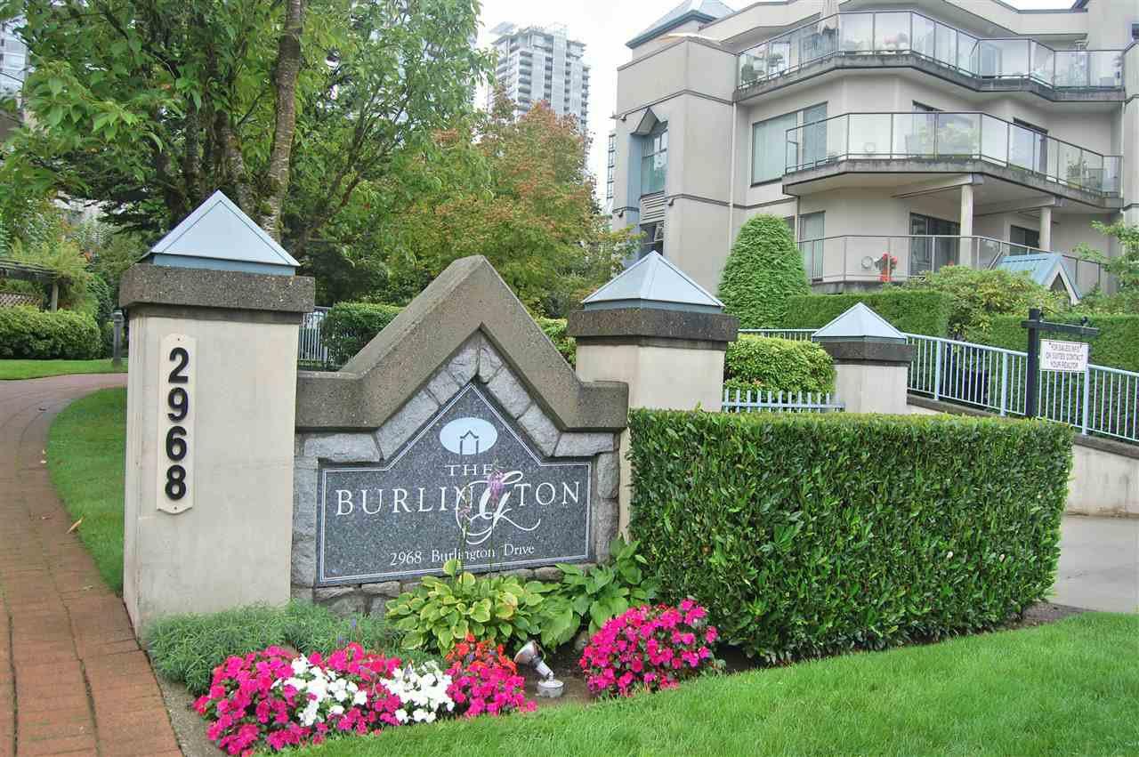 "Main Photo: 409 2968 BURLINGTON Drive in Coquitlam: North Coquitlam Condo for sale in ""Burlington"" : MLS®# R2407426"