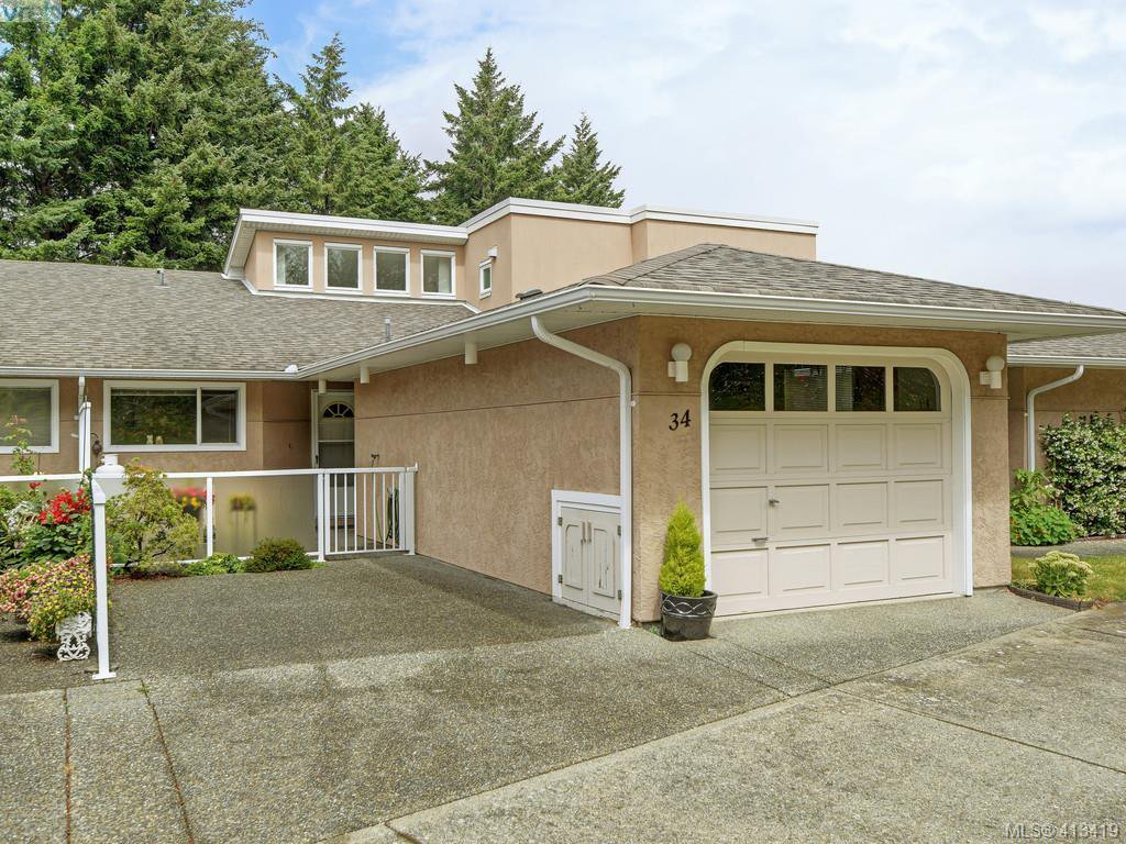 Main Photo: 34 3049 Brittany Drive in VICTORIA: Co Sun Ridge Row/Townhouse for sale (Colwood)  : MLS®# 413419