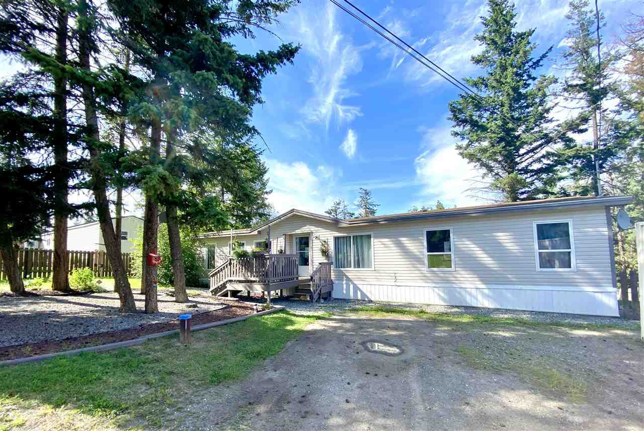 Main Photo: 544 HODGSON Road in Williams Lake: Esler/Dog Creek Manufactured Home for sale (Williams Lake (Zone 27))  : MLS®# R2479167