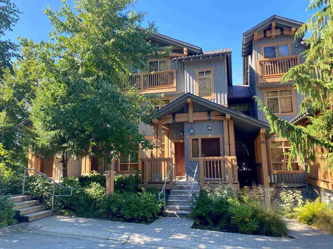 """Main Photo: 10 2301 TALUSWOOD Place in Whistler: Nordic Townhouse for sale in """"Bluffs"""" : MLS®# R2494900"""