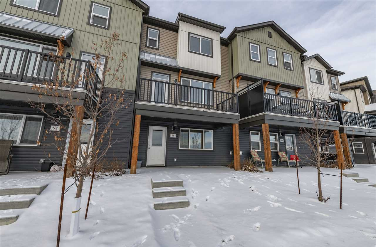 Main Photo: 98 16903 68 Street in Edmonton: Zone 28 Townhouse for sale : MLS®# E4223532