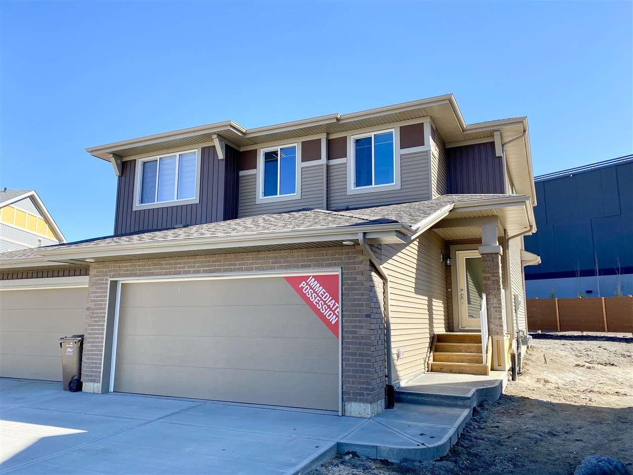 Main Photo: 38 JUNEAU Way: St. Albert House Half Duplex for sale : MLS®# E4196049