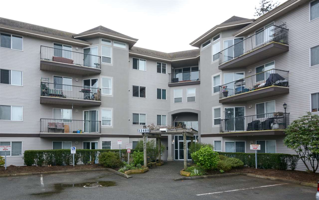 Main Photo: 307 33480 GEORGE FERGUSON WAY in : Central Abbotsford Condo for sale : MLS®# R2166517