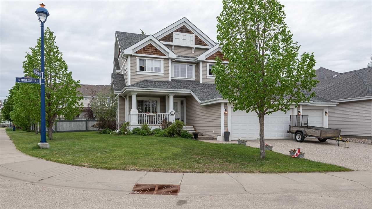 Main Photo: 314 SUMMERSIDE Cove in Edmonton: Zone 53 House for sale : MLS®# E4211321