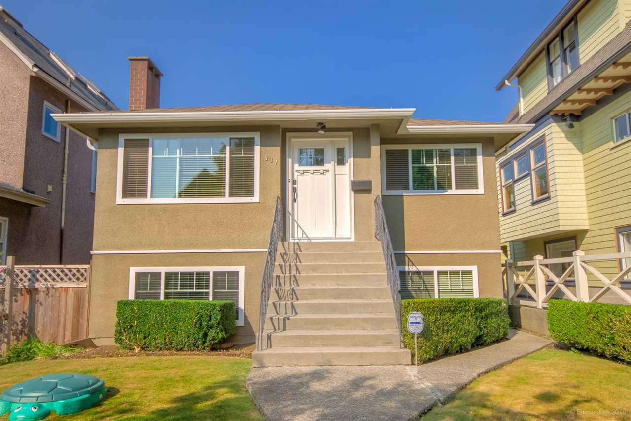 Main Photo: 637 E 11 Avenue in Vancouver: Mount Pleasant VE House for sale (Vancouver East)  : MLS®# R2509056