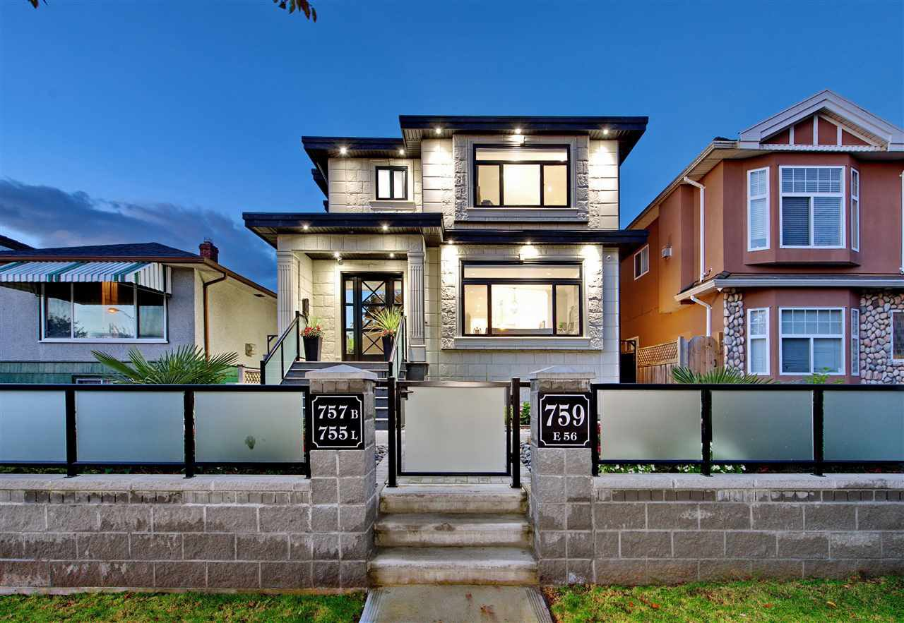 Main Photo: 759 E 56TH Avenue in Vancouver: South Vancouver House for sale (Vancouver East)  : MLS®# R2510993