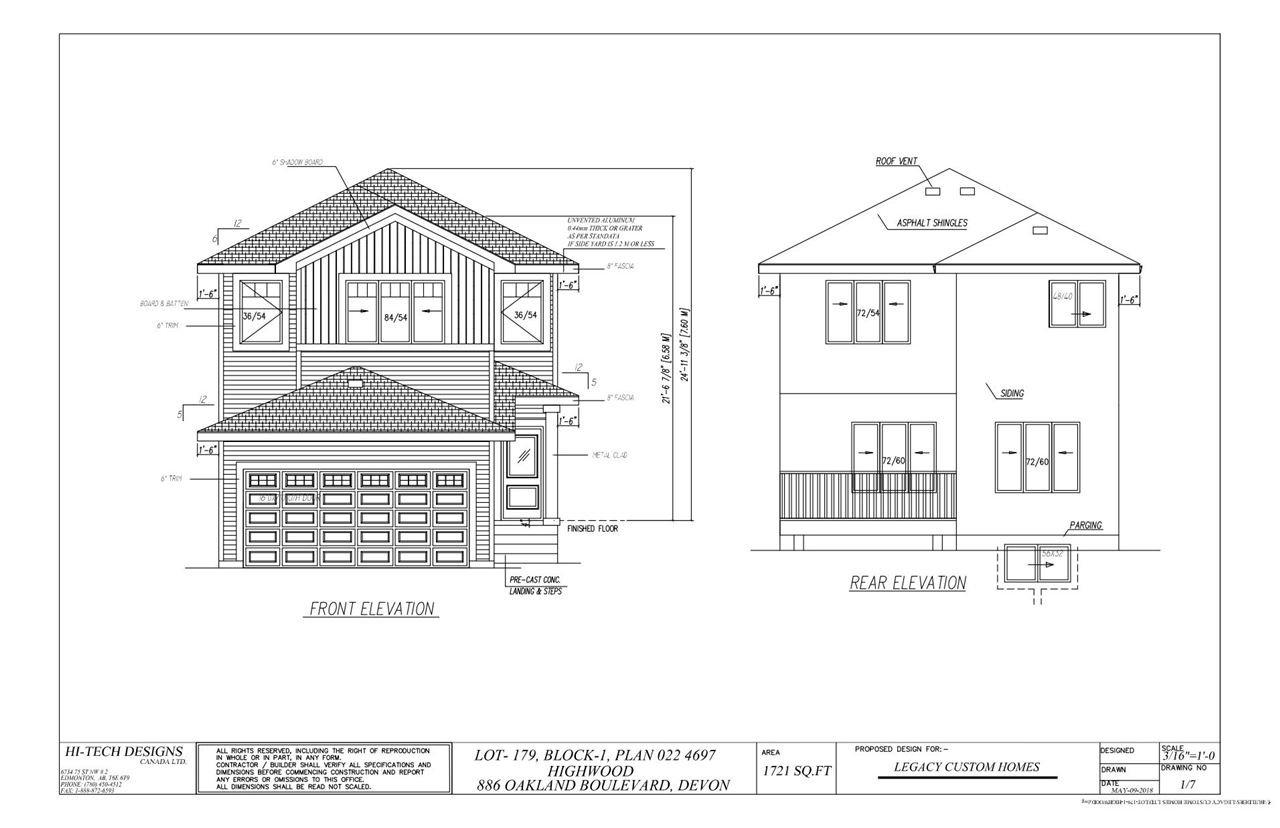 Main Photo: 886 Oakland Boulevard: Devon House for sale : MLS®# E4180486