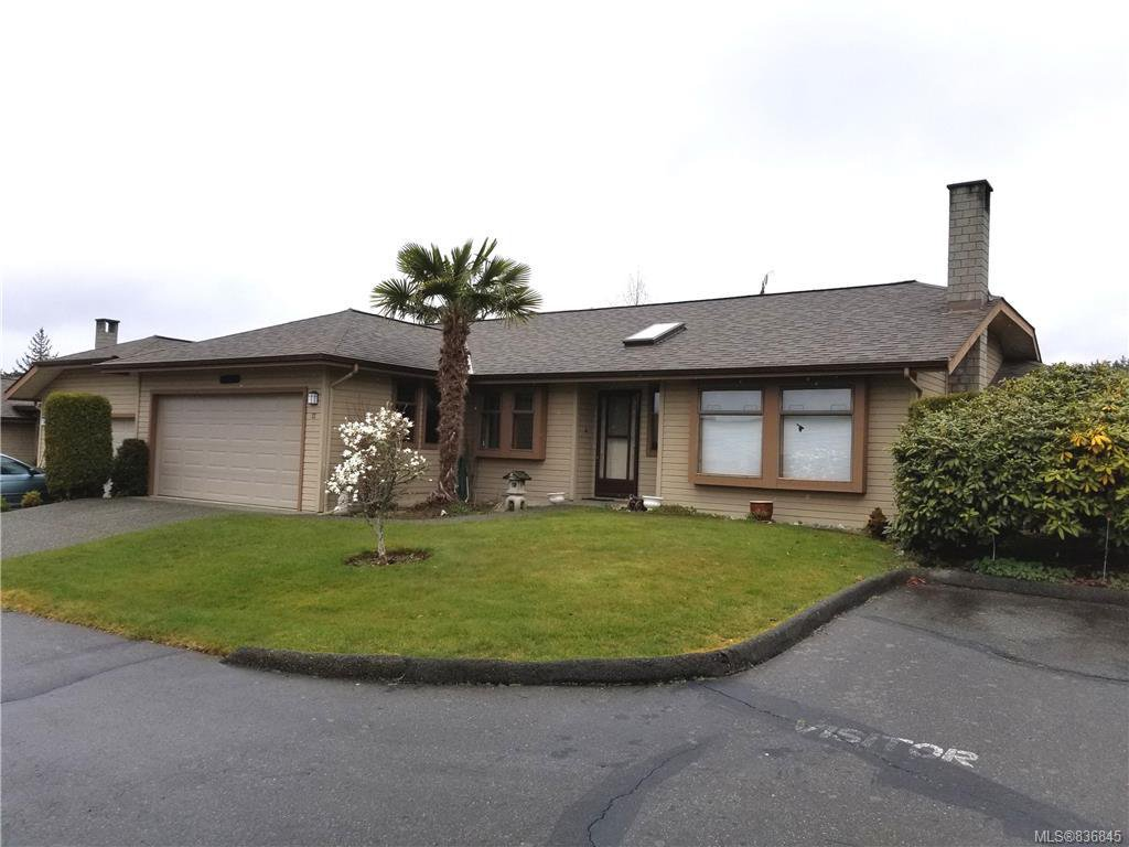 Main Photo: 12 1144 Verdier Ave in Central Saanich: CS Brentwood Bay Row/Townhouse for sale : MLS®# 836845