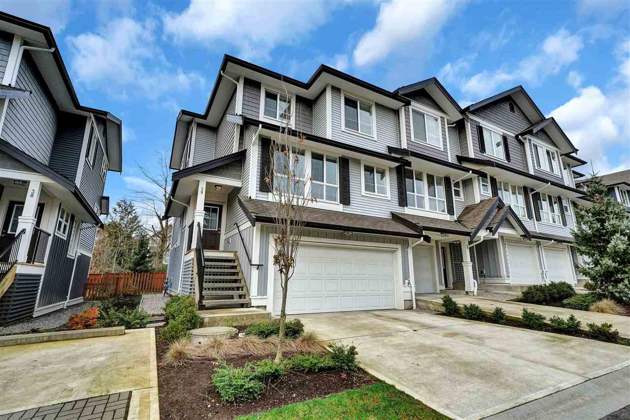 "Main Photo: 39 7157 210 Street in Langley: Willoughby Heights Townhouse for sale in ""ALDER"" : MLS®# R2433572"