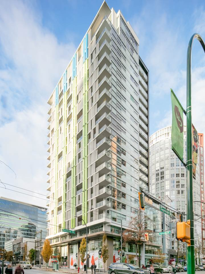 Main Photo: 1502 999 SEYMOUR STREET in Vancouver: Downtown VW Condo for sale (Vancouver West)  : MLS®# R2438685