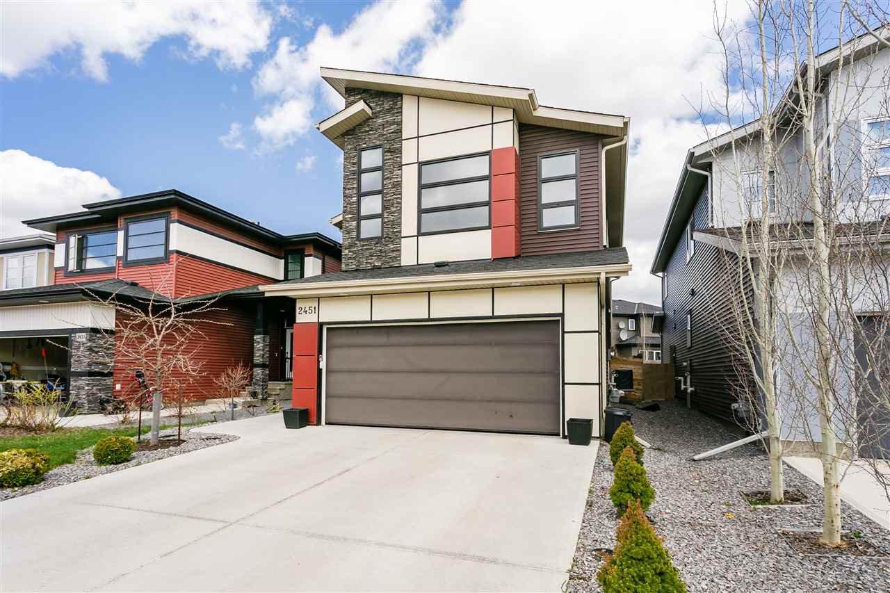 Main Photo: 2451 WARE Crescent in Edmonton: Zone 56 House for sale : MLS®# E4208498