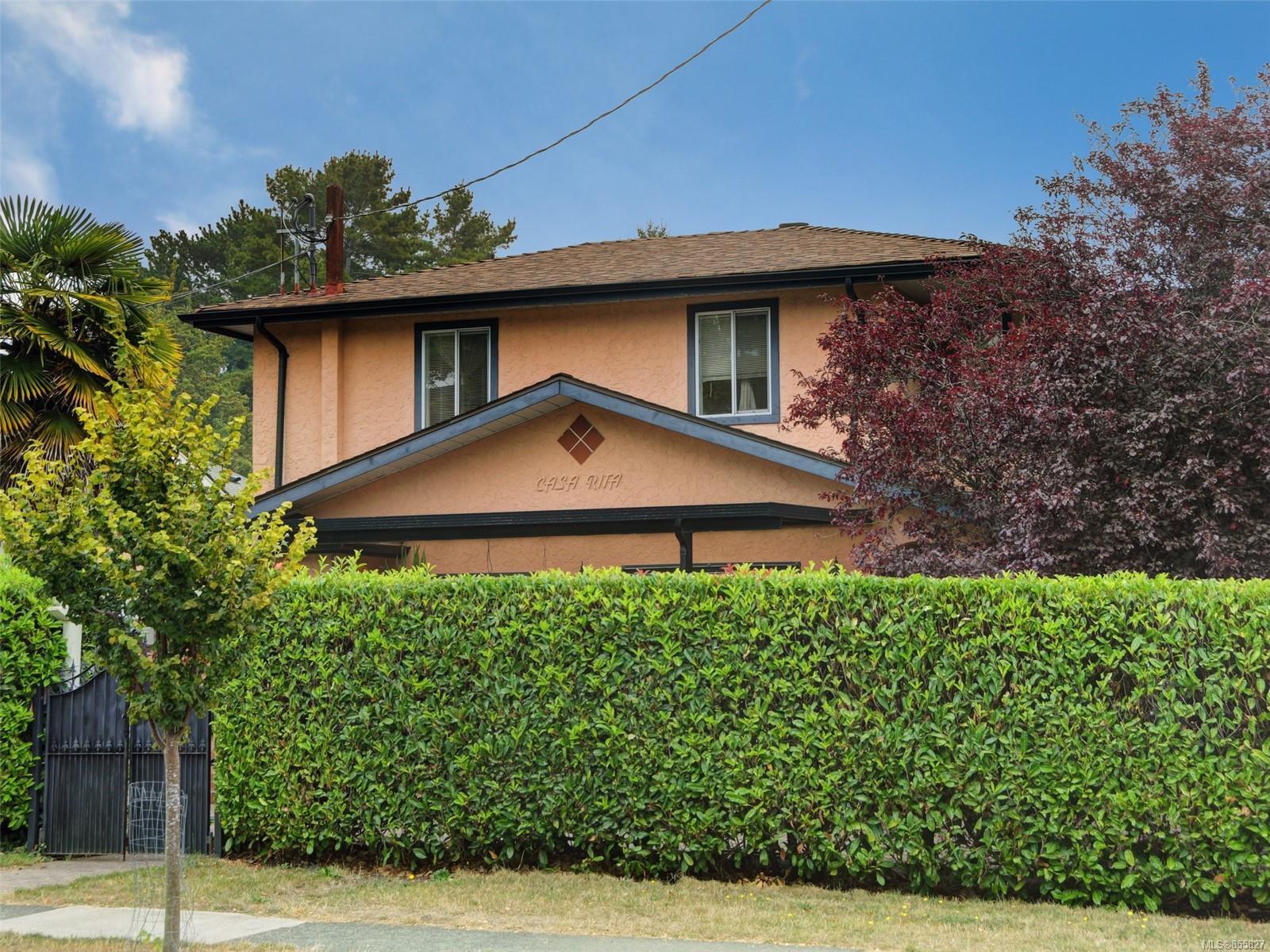 Main Photo: 341 Linden Ave in : Vi Fairfield West Half Duplex for sale (Victoria)  : MLS®# 855827