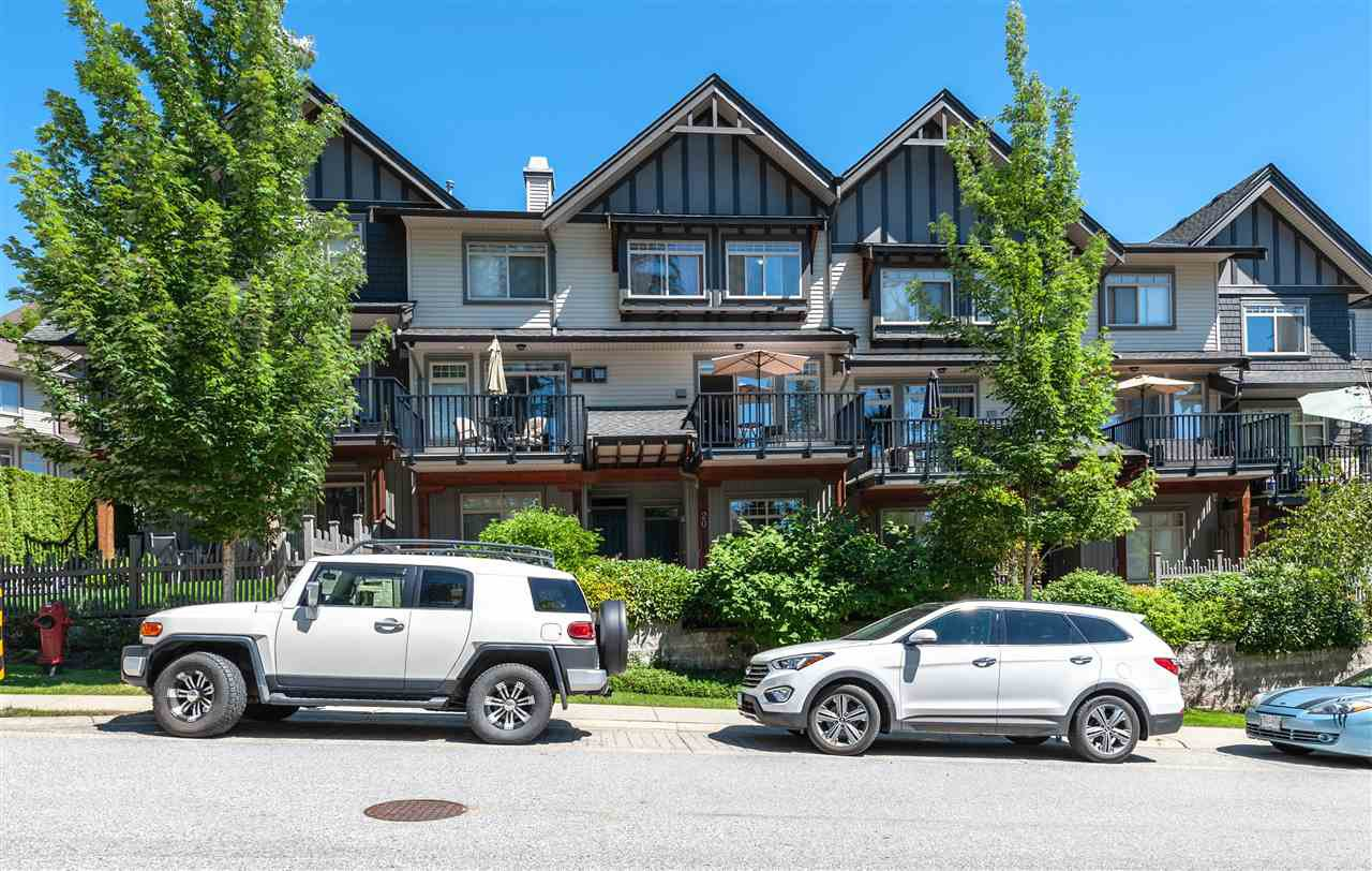 """Main Photo: 20 55 HAWTHORN Drive in Port Moody: Heritage Woods PM Townhouse for sale in """"COBALT SKY"""" : MLS®# R2403254"""