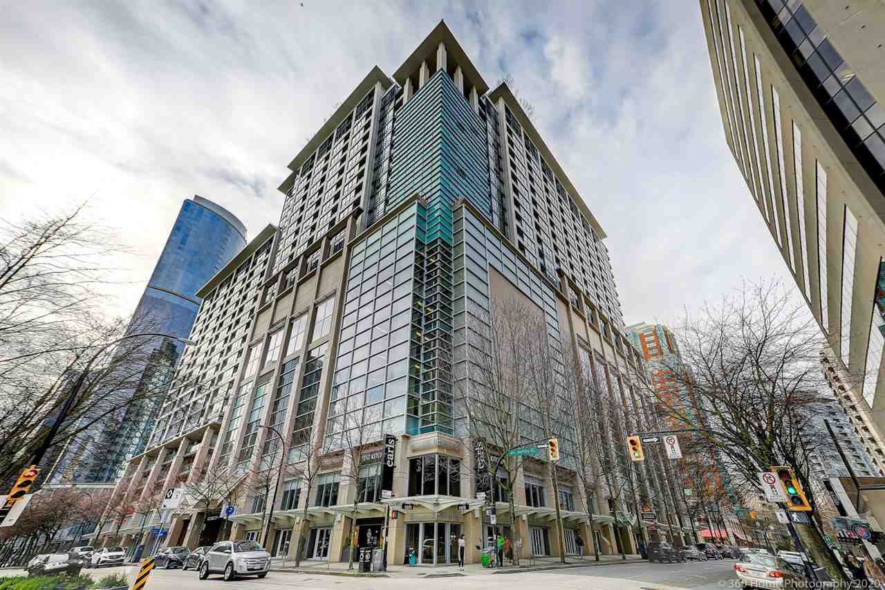 Main Photo: 1602 938 SMITHE Street in Vancouver: Downtown VW Condo for sale (Vancouver West)  : MLS®# R2439605