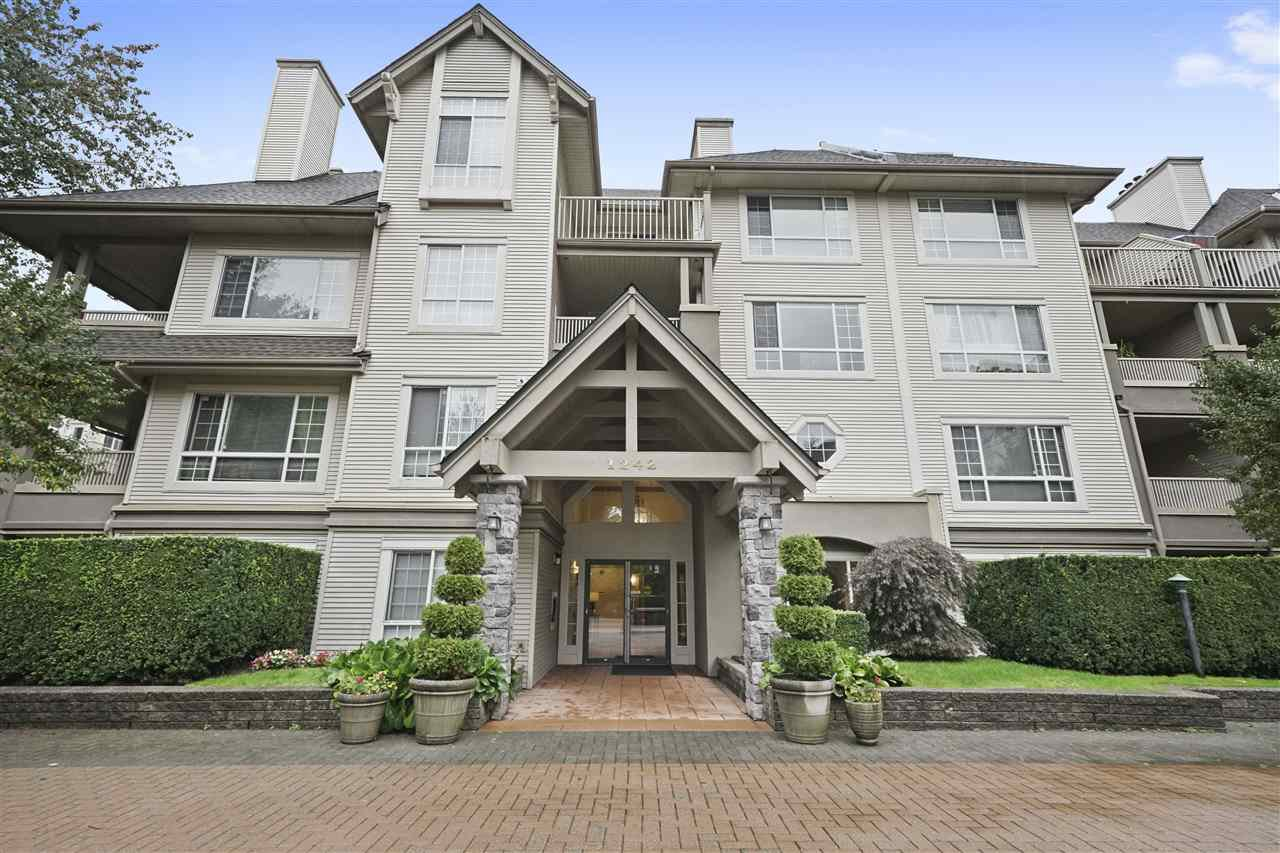 """Main Photo: 109 1242 TOWN CENTRE Boulevard in Coquitlam: Canyon Springs Condo for sale in """"The Kennedy"""" : MLS®# R2422082"""