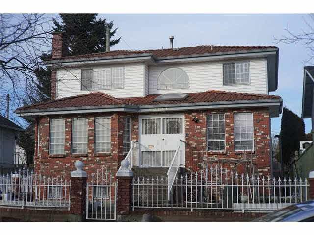 Main Photo: 3481 E GEORGIA STREET in Vancouver East: Renfrew VE House for sale ()  : MLS®# V1046438