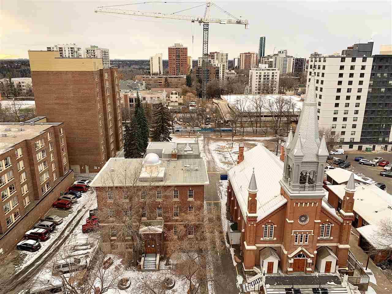 Main Photo: 1203 9917 110 Street in Edmonton: Zone 12 Condo for sale : MLS®# E4214906