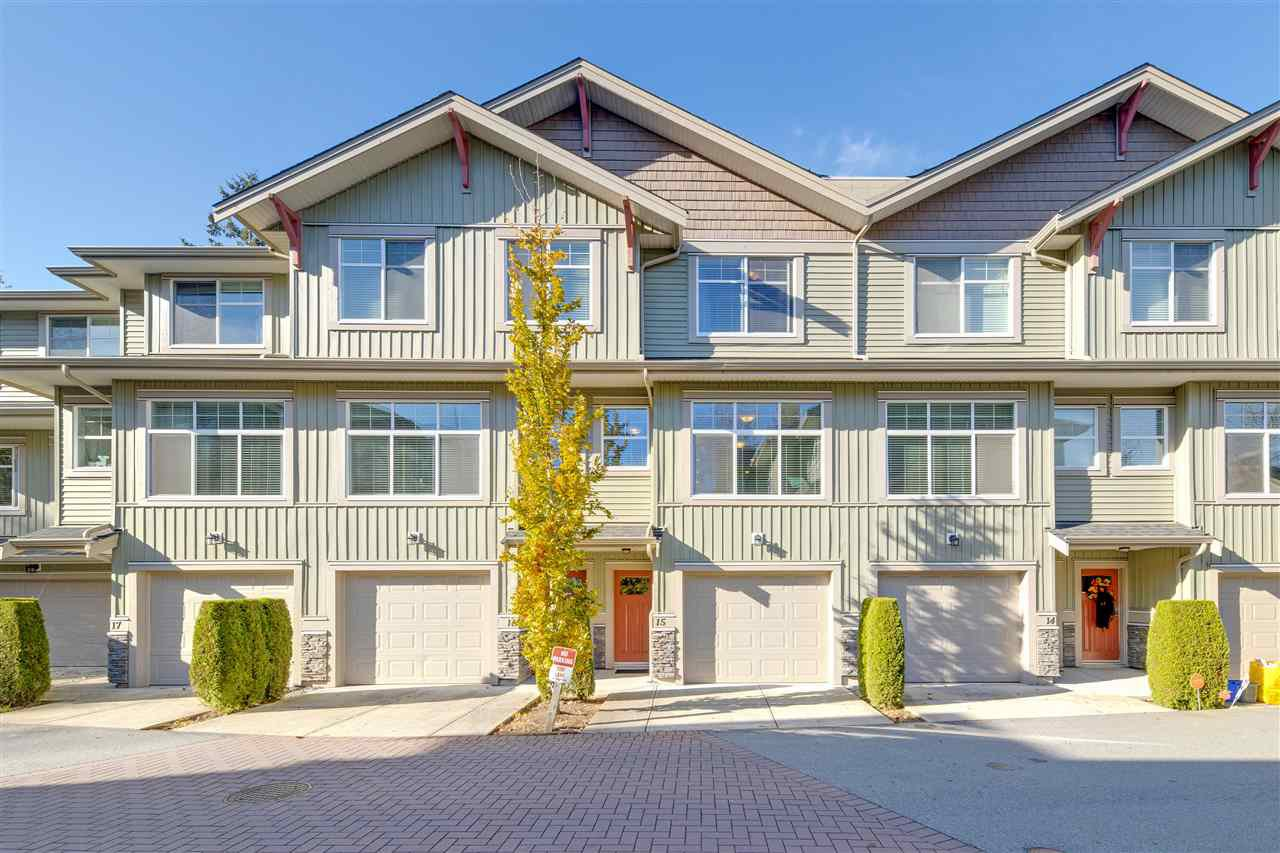 "Main Photo: 15 20967 76 Avenue in Langley: Willoughby Heights Townhouse for sale in ""Nature's Walk"" : MLS®# R2514471"