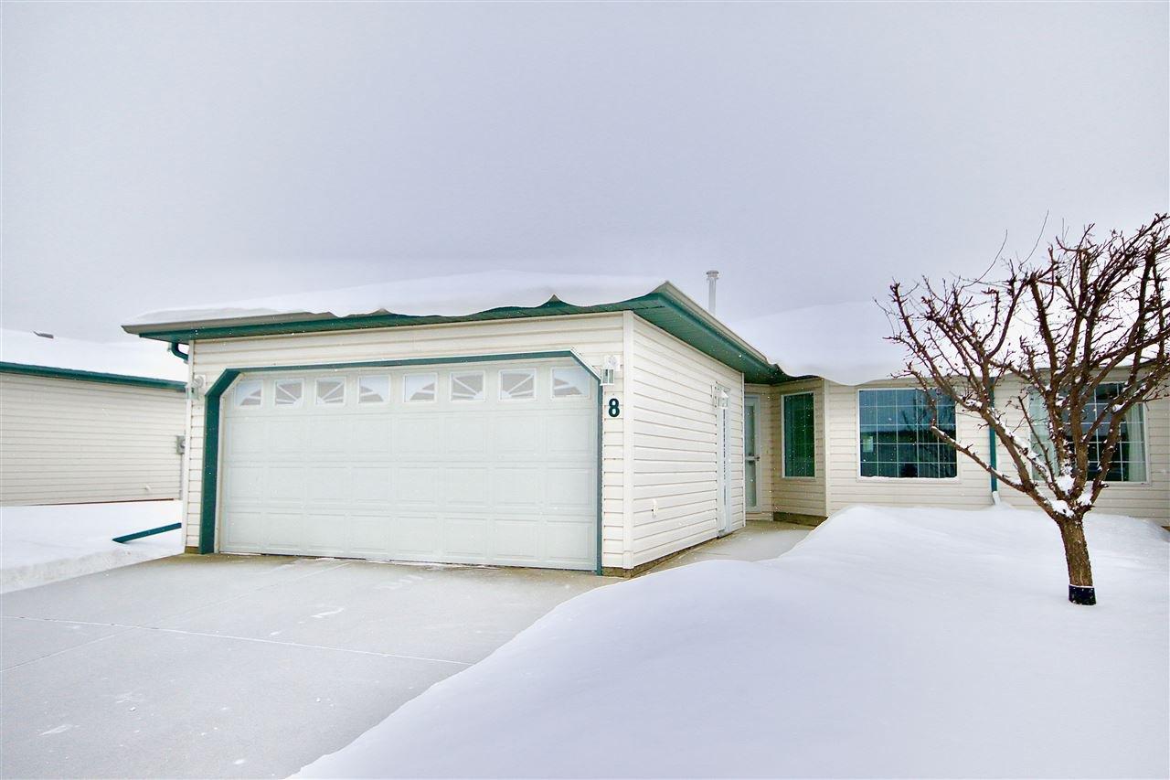 Main Photo: 8 5714 50 Street: Wetaskiwin House Half Duplex for sale : MLS®# E4165951