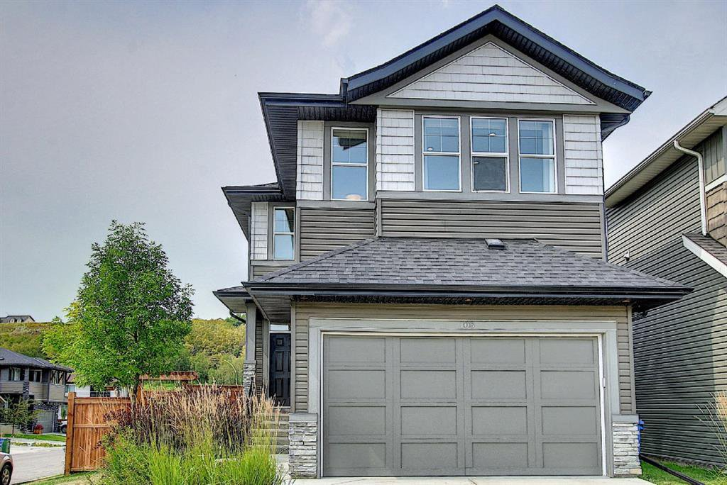 Main Photo: 105 CHAPARRAL VALLEY Mews SE in Calgary: Chaparral Detached for sale : MLS®# A1026388
