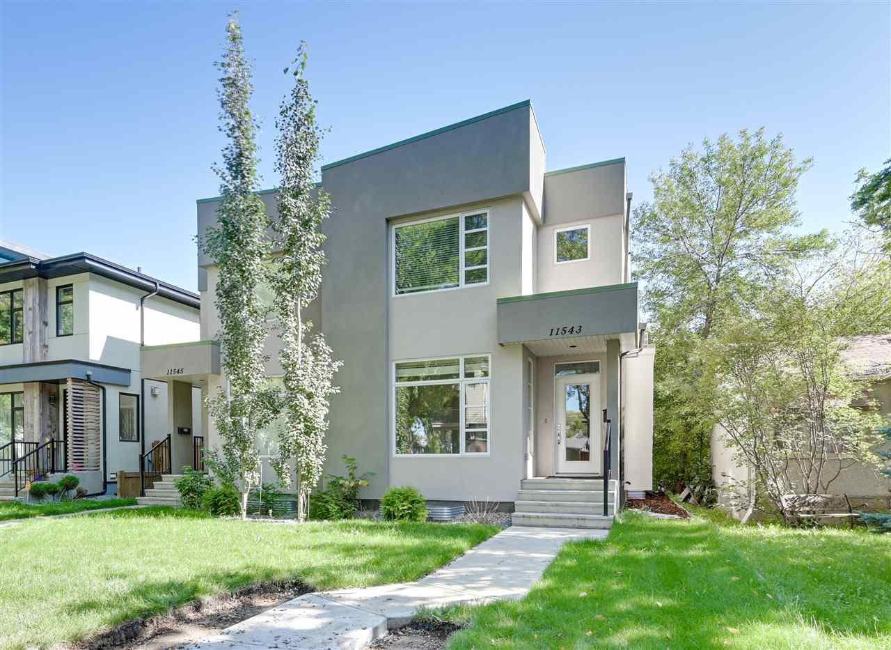 Main Photo: 11543 122 Street in Edmonton: Zone 07 House Half Duplex for sale : MLS®# E4173640