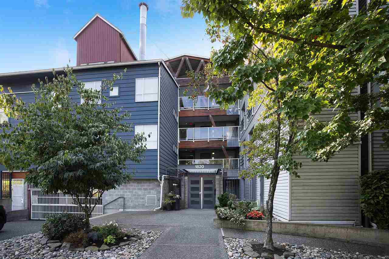 """Main Photo: 303 1820 E KENT AVENUE SOUTH in Vancouver: South Marine Condo for sale in """"Pilot House at Tugboat Landing"""" (Vancouver East)  : MLS®# R2508184"""
