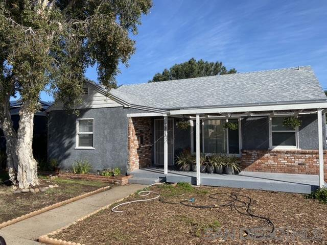 Main Photo: SAN DIEGO House for sale : 3 bedrooms : 4315 Athens St