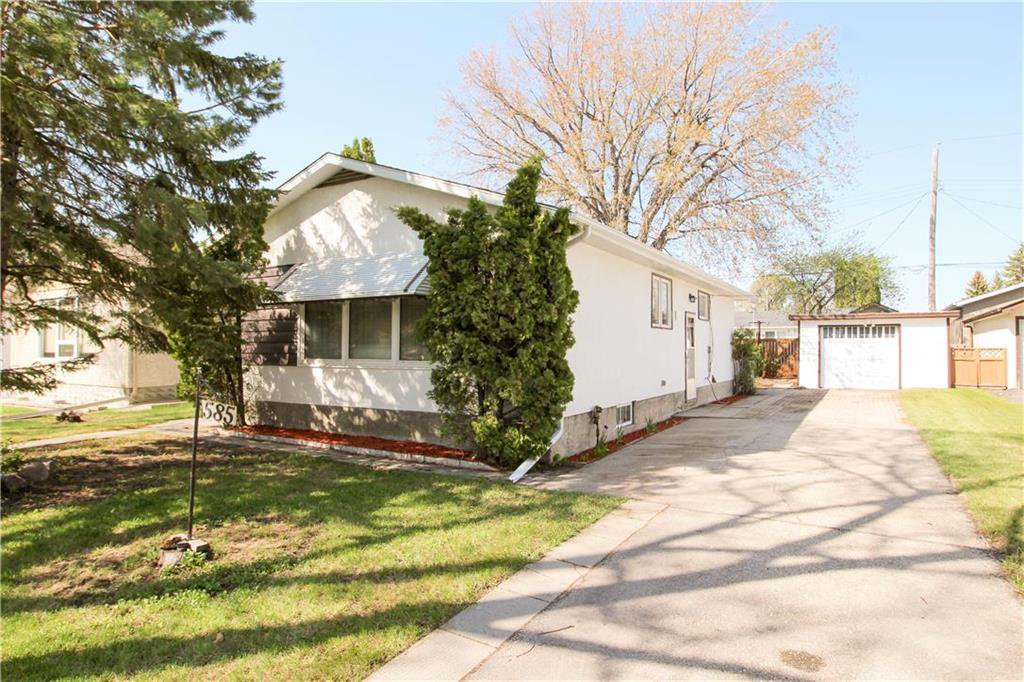 Main Photo: 585 Edison Avenue in Winnipeg: Residential for sale (3F)  : MLS®# 202011076