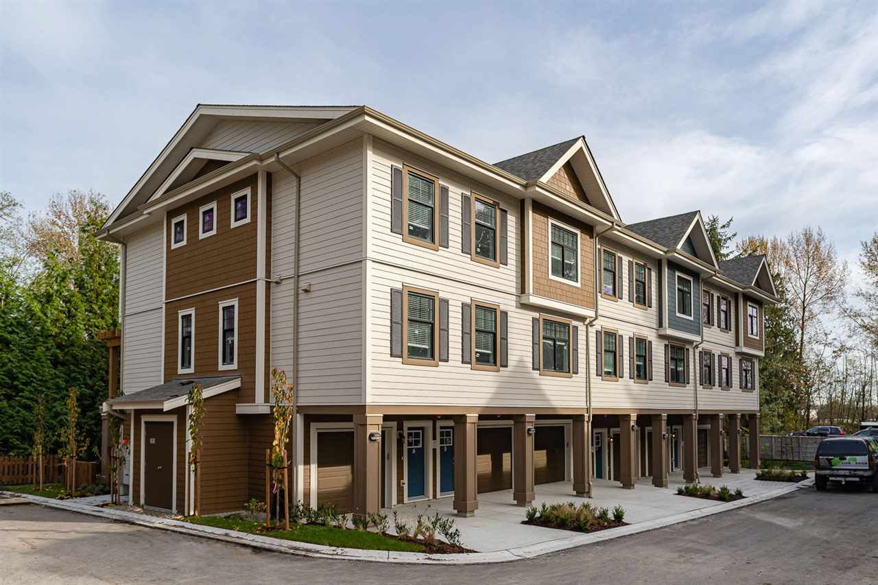 Main Photo: 1 1818 HARBOUR STREET in Port Coquitlam: Citadel PQ Townhouse for sale : MLS®# R2424468