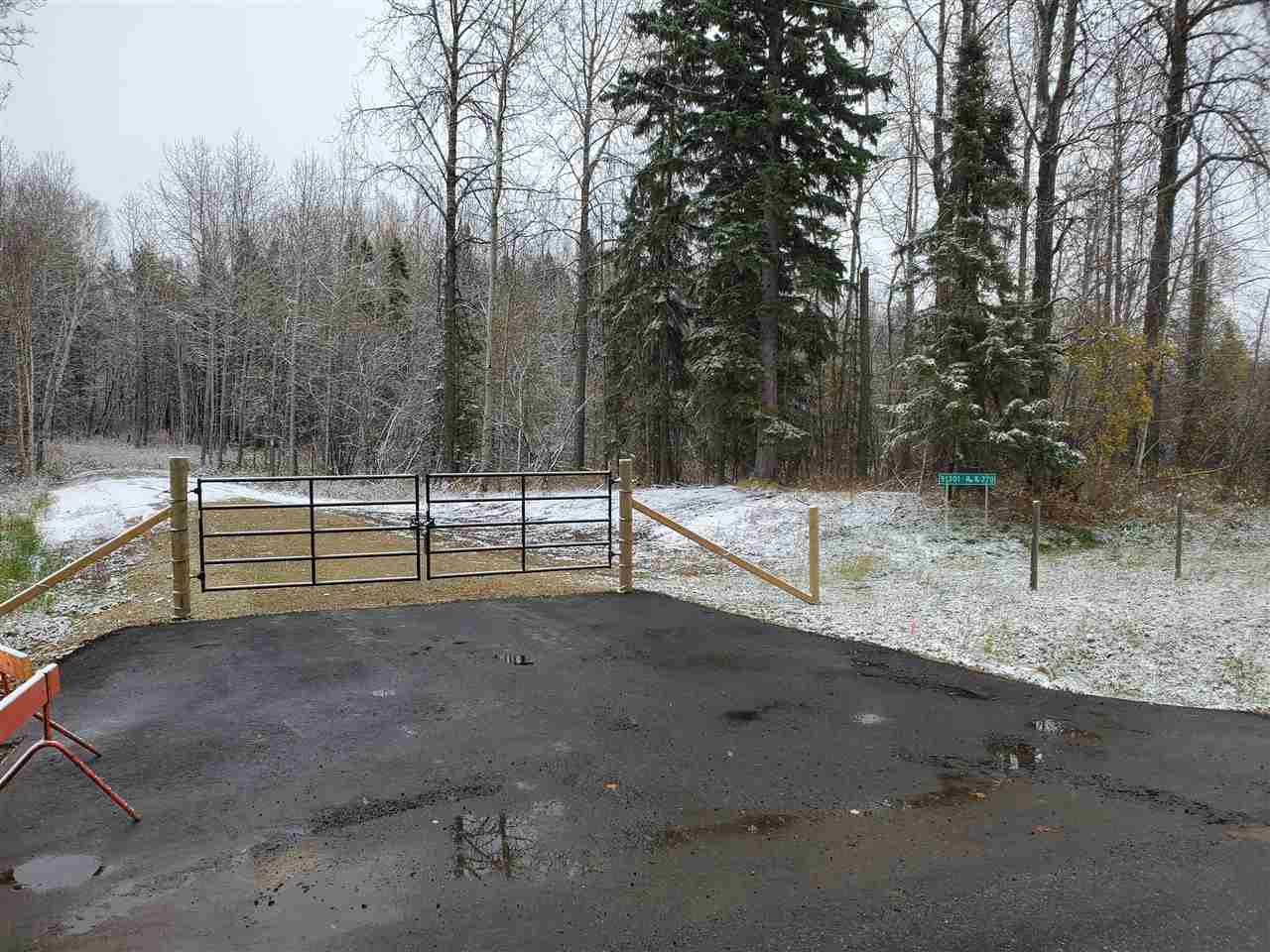 Main Photo: 51301 Rge Road 270: Rural Parkland County Rural Land/Vacant Lot for sale : MLS®# E4218405