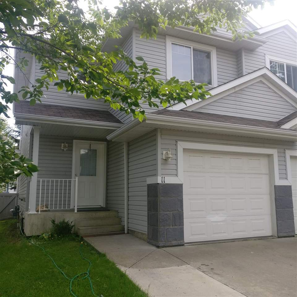 Main Photo:  in Edmonton: Zone 30 House Half Duplex for sale : MLS®# E4168555
