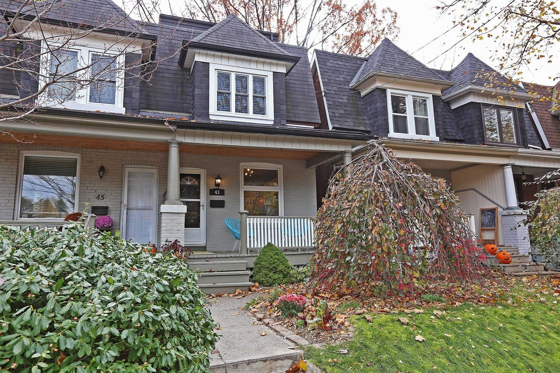 Main Photo: 43 Strathcona Ave in Toronto: North Riverdale Freehold for sale (Toronto E01)  : MLS®# E4628375