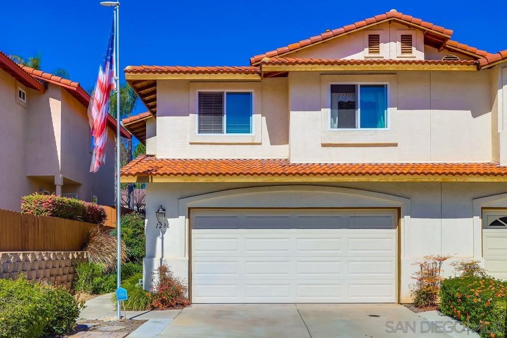Main Photo: EL CAJON Condo for sale : 4 bedrooms : 1236 Winter View Pl