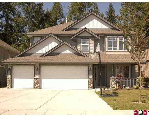 """Main Photo: 32959 BOOTHBY AV in Mission: Mission BC House for sale in """"Cedar Valley Estates"""" : MLS®# F2615911"""