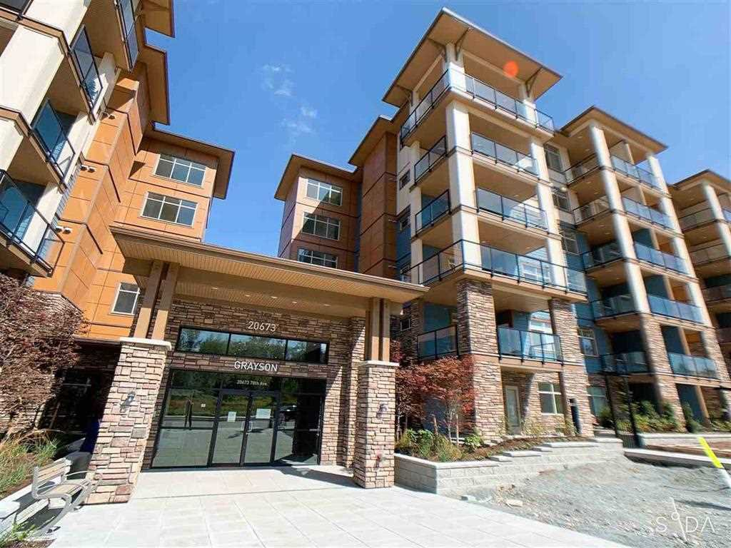 "Main Photo: 308 20673 78 Avenue in Langley: Willoughby Heights Condo for sale in ""GRAYSON"" : MLS®# R2498203"