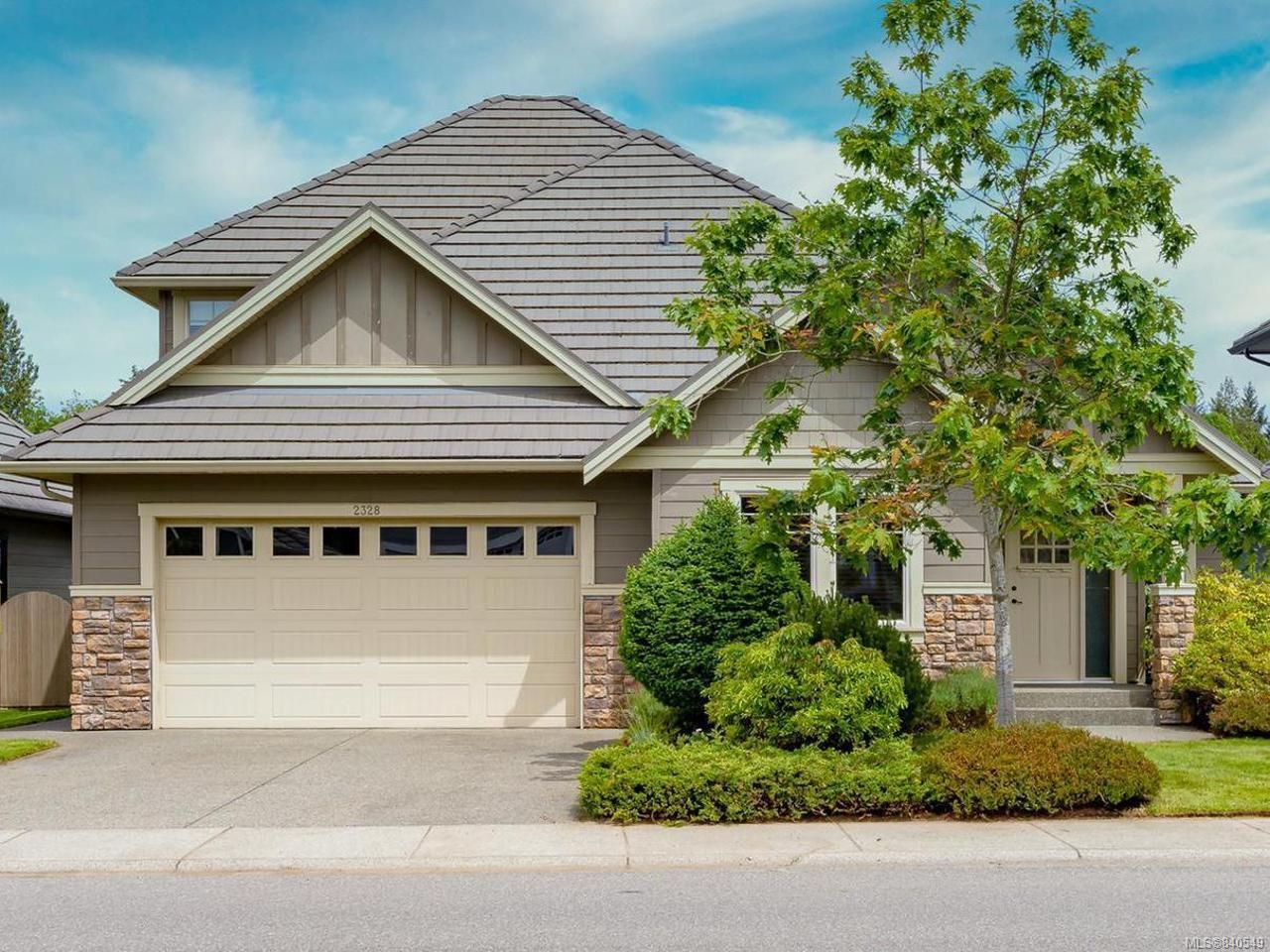 Main Photo: 2328 Idiens Way in COURTENAY: CV Crown Isle House for sale (Comox Valley)  : MLS®# 840549