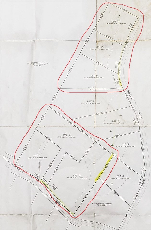 Main Photo: Wallace Road in Hazel Glen: 108-Rural Pictou County Vacant Land for sale (Northern Region)  : MLS®# 202023447