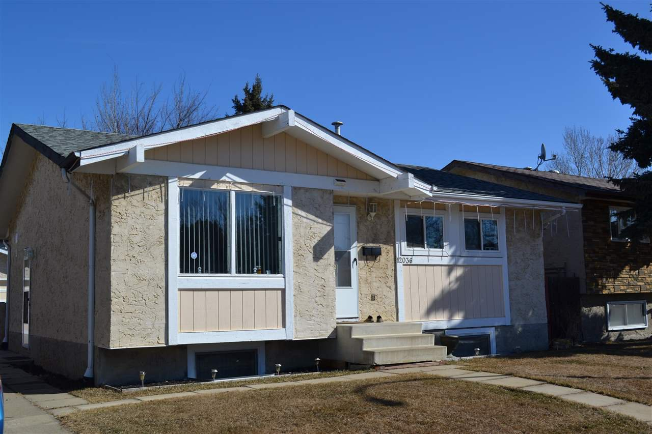 Main Photo: 12036 143 Avenue in Edmonton: Zone 27 House for sale : MLS®# E4168329