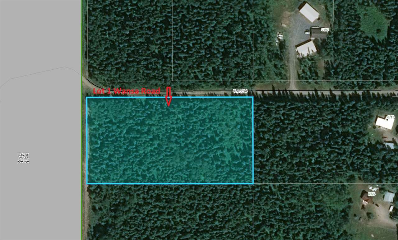 Main Photo: LOT 1 WANSA Road in Prince George: Pineview Land for sale (PG Rural South (Zone 78))  : MLS®# R2413760