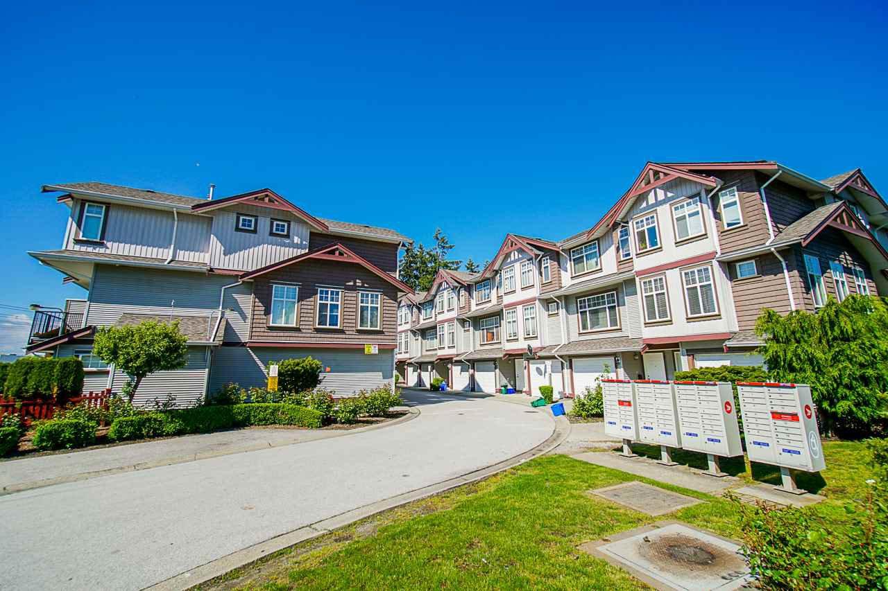 "Main Photo: 26 12585 72 Avenue in Surrey: West Newton Townhouse for sale in ""Kwantlen Village"" : MLS®# R2456118"