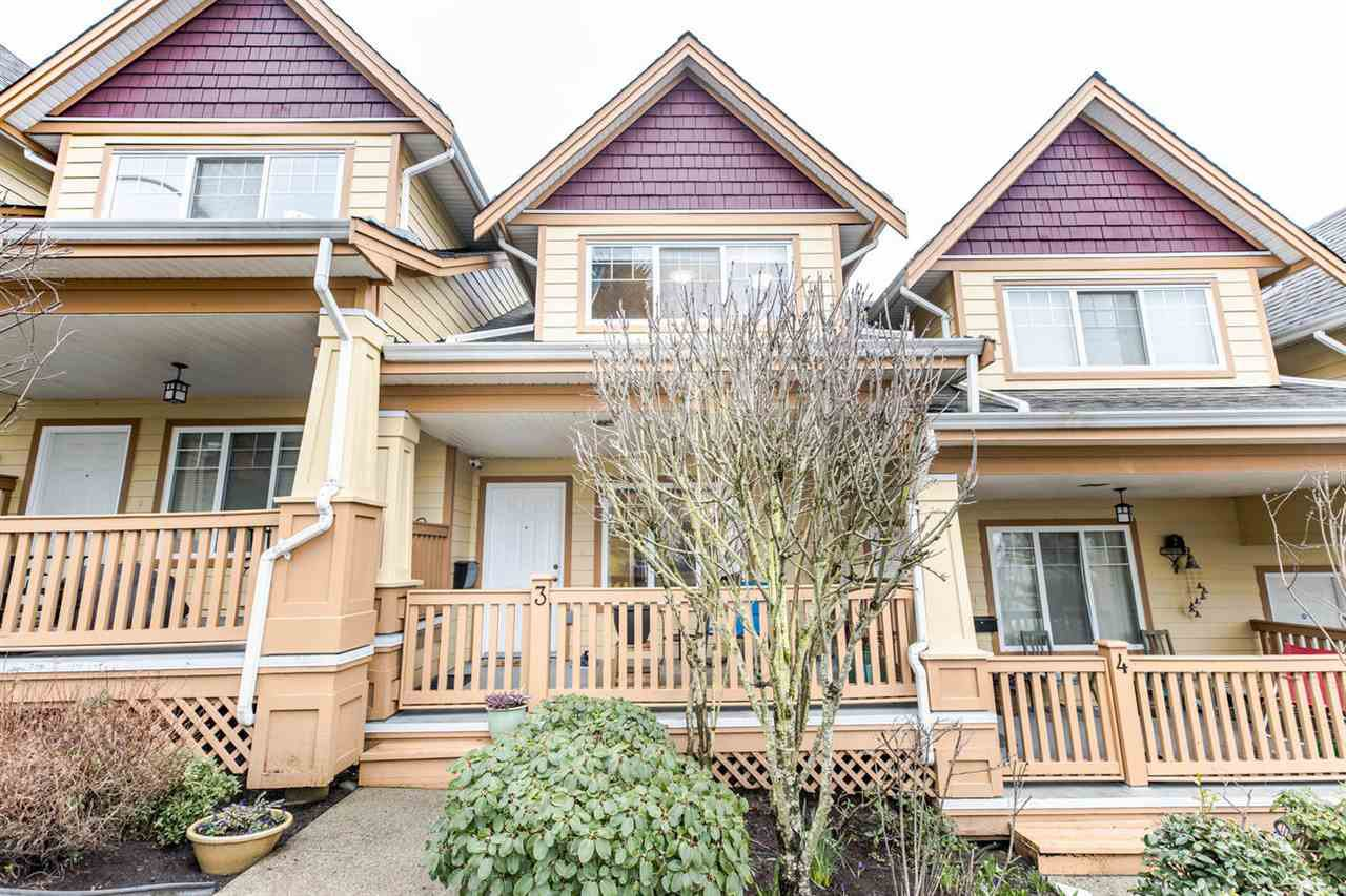 Main Photo: 3 1222 CAMERON Street in New Westminster: Uptown NW Townhouse for sale : MLS®# R2466583