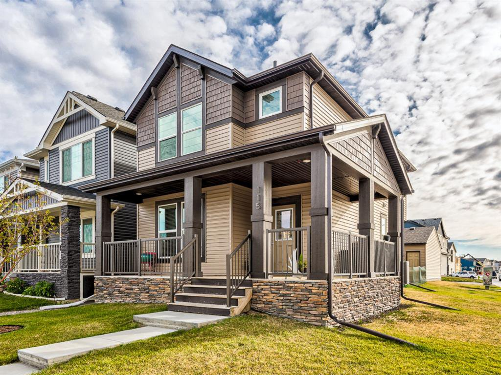 Main Photo: 115 LEGACY GLEN Row SE in Calgary: Legacy Detached for sale : MLS®# A1037252