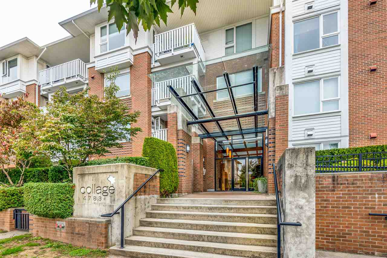 """Main Photo: 109 4783 DAWSON Street in Burnaby: Brentwood Park Condo for sale in """"COLLAGE"""" (Burnaby North)  : MLS®# R2508221"""