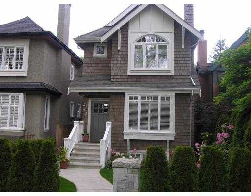 Main Photo: 4273 W 14TH AV in Vancouver: Point Grey House for sale (Vancouver West)  : MLS®# V537241