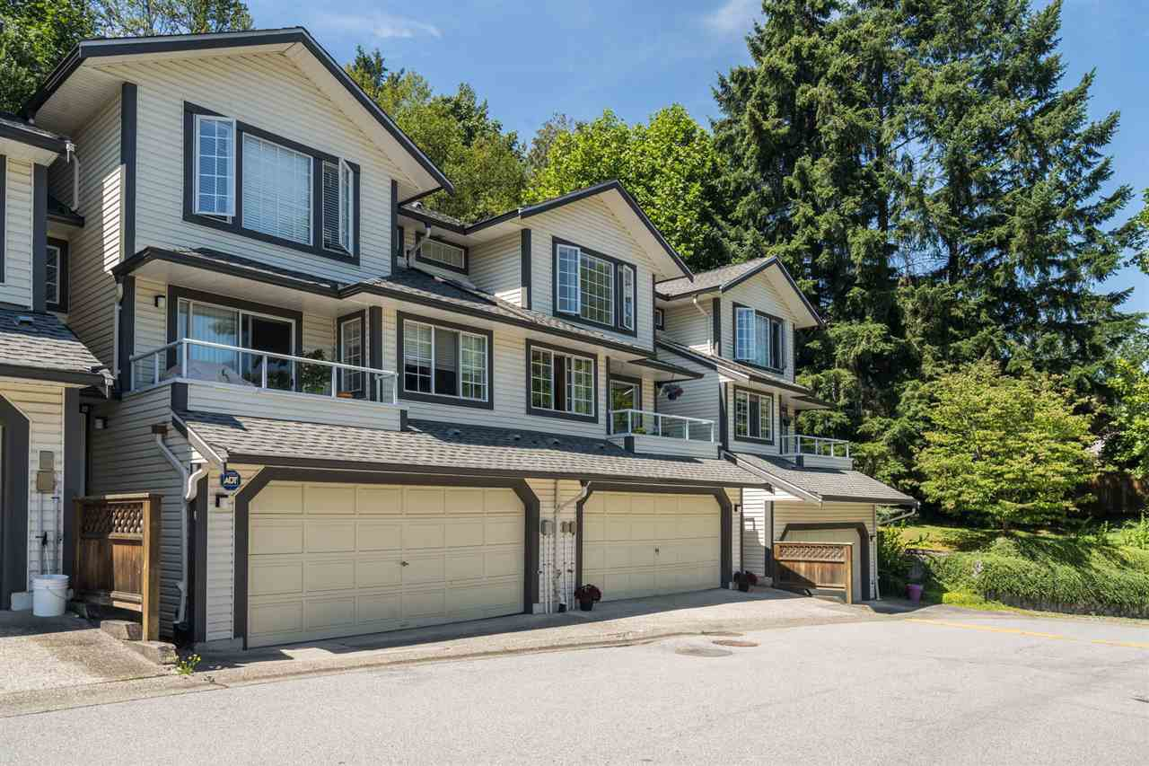 "Main Photo: 27 2561 RUNNEL Drive in Coquitlam: Eagle Ridge CQ Townhouse for sale in ""Camridge Court"" : MLS®# R2480351"