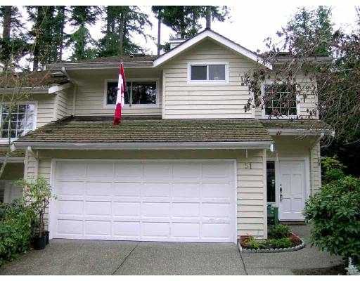 """Main Photo: 51 DEERWOOD PL in Port Moody: Heritage Mountain Townhouse for sale in """"HERITAGE GREEN"""" : MLS®# V565627"""