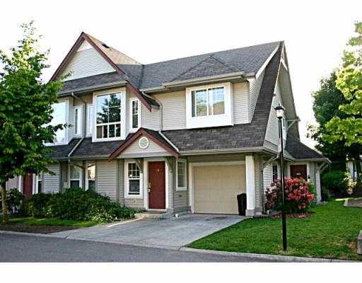 """Main Photo: 26 23085 118TH AV in Maple Ridge: East Central Townhouse for sale in """"SOMERVILLE GARDENS"""" : MLS®# V538820"""