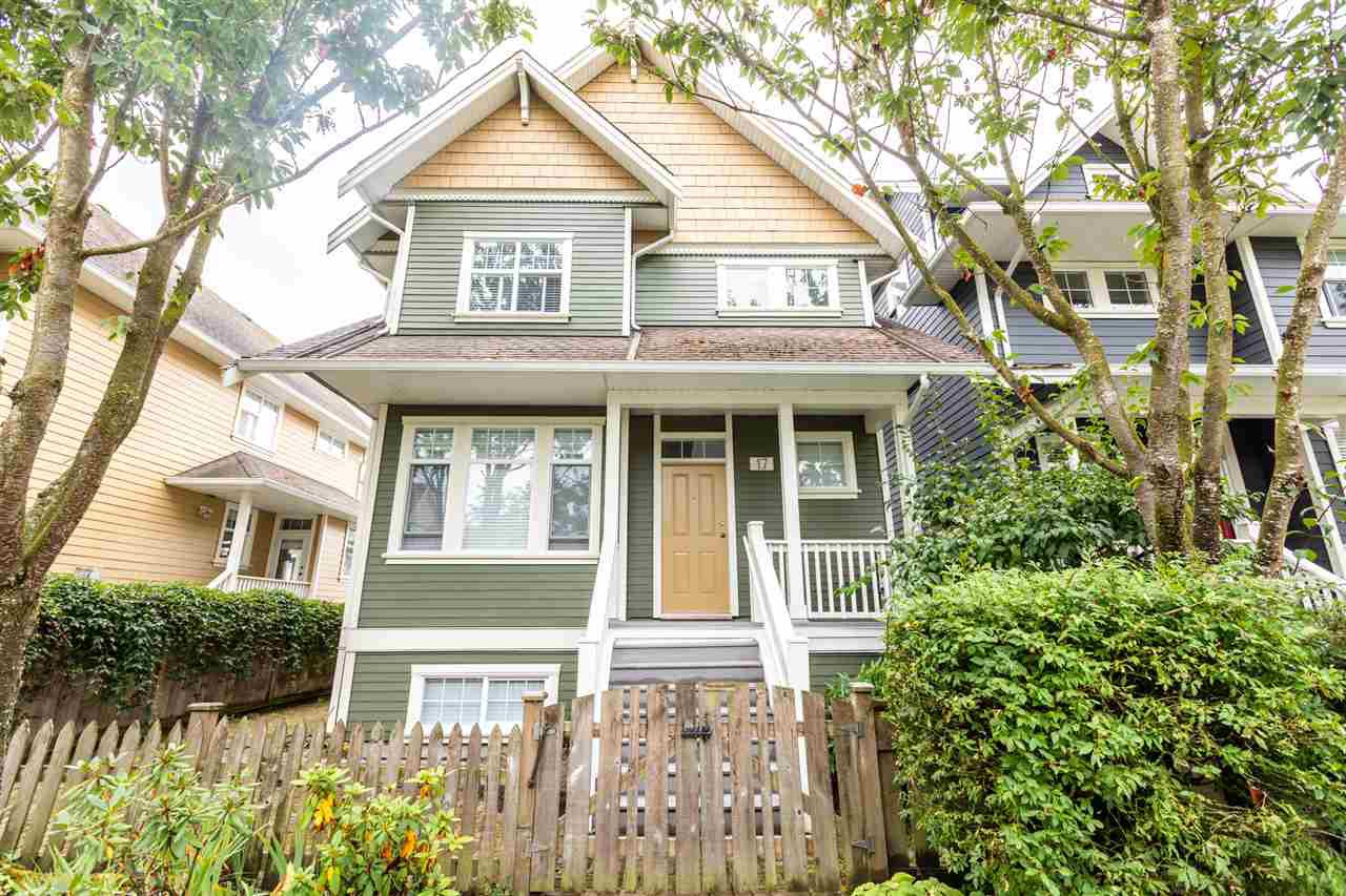 Main Photo: 17 13400 PRINCESS Street in Richmond: Steveston South Townhouse for sale : MLS®# R2399970