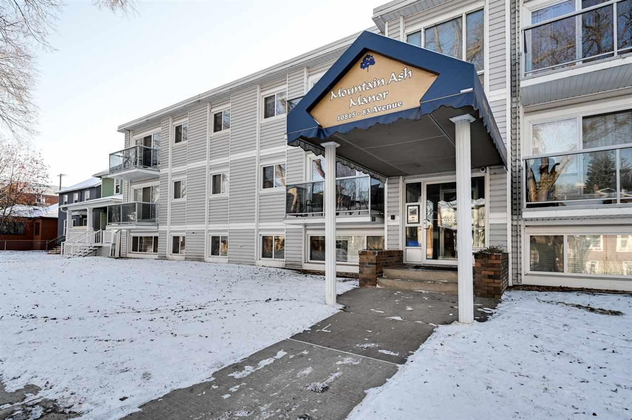 Photo 2: Photos: 303 10815 83 Avenue in Edmonton: Zone 15 Condo for sale : MLS®# E4181065