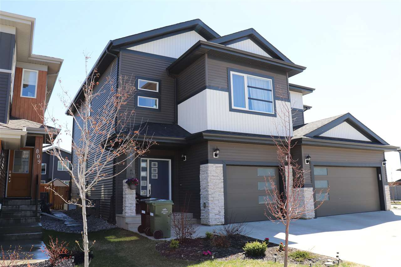 Main Photo: 811 Berg Loop: Leduc House Half Duplex for sale : MLS®# E4197273